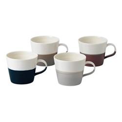Coffee Studio Set of 4 small mugs, mixed