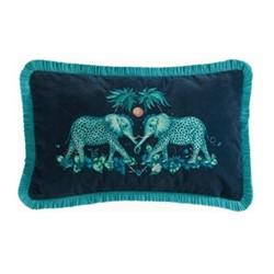 Zambezi Boudoir cushion, teal