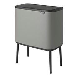 Bo Touch bin, 23 litre, mineral concrete grey