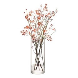 Column Giant vase, 50 x 20cm, clear