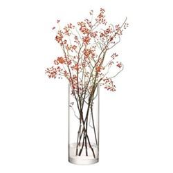 Column Giant vase, 50 x 20cm, clear