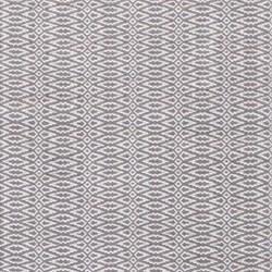 Fair Isle Woven cotton rug, W244 x L305cm, grey platinum