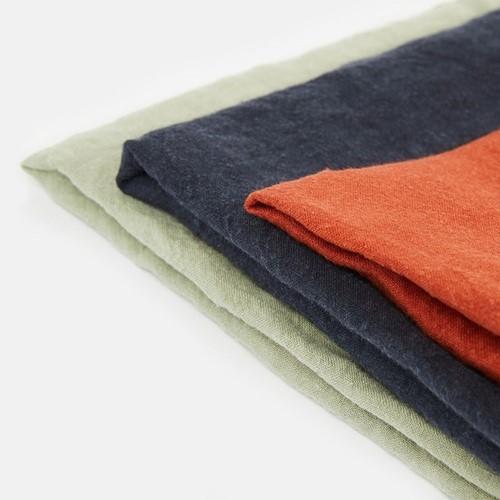 Rosa Linen Set of 3 napkins, H75 x W50cm, multi
