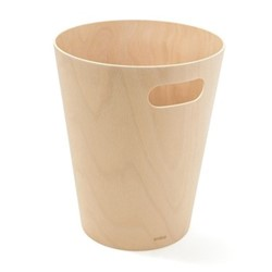 Woodrow Can, H23 x W23cm, natural
