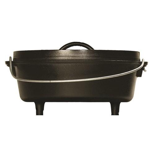 Camp dutch oven, H30 x W26.5 x L15cm, black