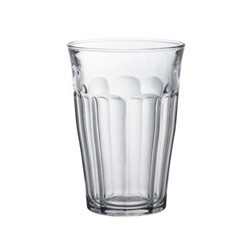 Picardie Set of 6 glass tumblers, D8.8 x H12.4cm - 36cl, clear glass