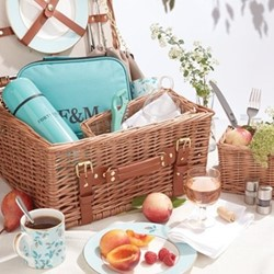 Camellia The Fortnum's 2 person hamper, H37.5 x W37.5 x D19cm