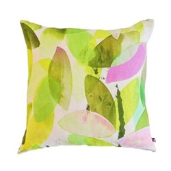 Falling Leaves in Spring Cushion, L45 x W45cm, multi