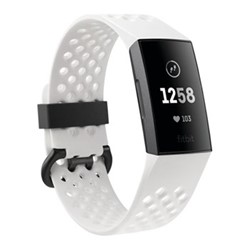 Fitbit Charge 3 SE Activity tracker with heart rate monitor, W2.9 x D25.7cm, white & graphite