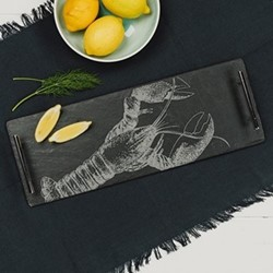 Lobster Small serving tray, W15 x 42cm