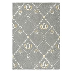 Pure Trellis Rug, 170 x 240cm, lightish grey