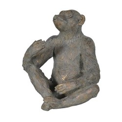 Monkey Bottle holder, H28 x 23 cm