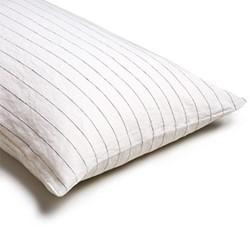 Pair of kingsize pillowcases, 50 x 90cm, luna stripe