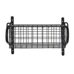 Large hanging basket, W84cm, black