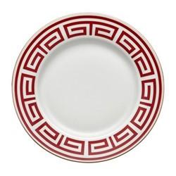 Labirinto Soup plate, 24.5cm, scarlatto