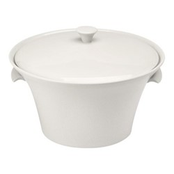 Seychelles Soup tureen with lid, 175cl, white
