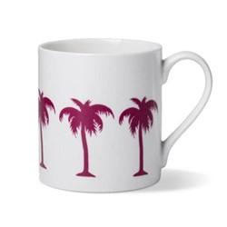 Palm Tree Mug, D8.5 x H9cm - 1 pint