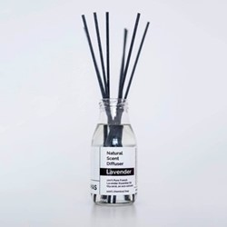Pure - Lavender Diffuser, 250ml, clear