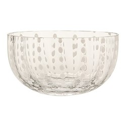 Perle Set of 6 bowls, 38cl, clear
