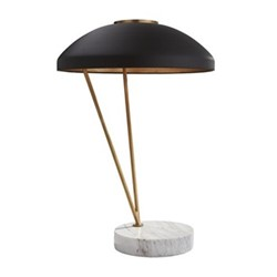 Coquette Table Lamp, H50 x Dia35cm, antique burnished brass