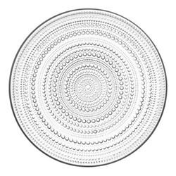Kastehelmi Plate, 31.5cm, clear