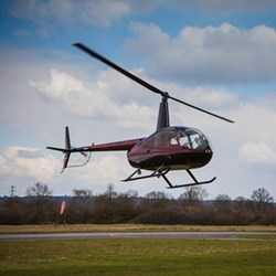 Helicopter lesson for two in a Robinson R44 with Elstree helicopters