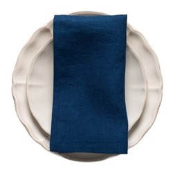 Porto Pair of napkins, 47 x 47cm, navy