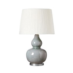 Calabash Table lamp (base only), H42 x D28cm, pebble ceramic