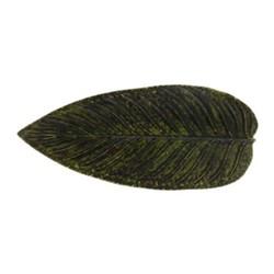 Riviera Forest Strelizia leaf dish, 40cm, green