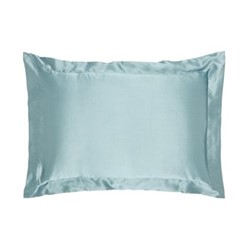 Signature Oxford pillowcase, L50 x W90cm, teal