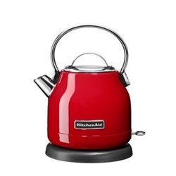 Traditional Dome kettle, 1.25 litre, empire red