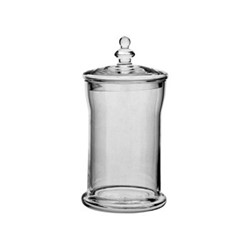 Belmont Small jar, H23 x D12cm, clear