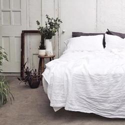 Double duvet cover, 200 x 200cm, white