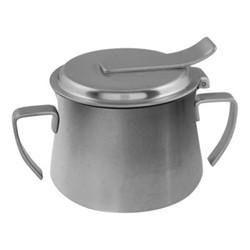 Original Vintage Sugar bowl, stainless steel