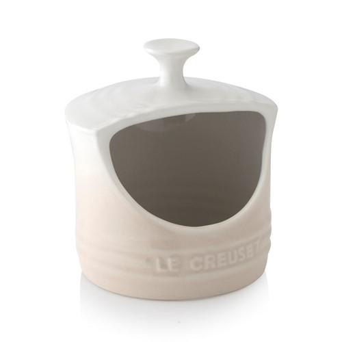 Stoneware Salt pig, 13.5 x 12.5cm, meringue