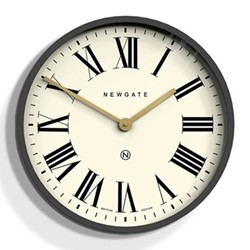 Mr Butler Wall clock, Dia45cm, blizzard grey