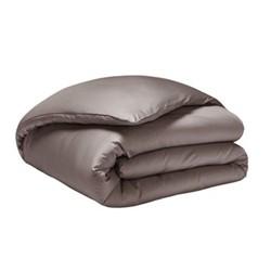 Teo Super king size duvet cover, W260 x L220cm, mink