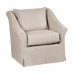 Long Island Armchair, W80 x D95 x H81.5cm, pale oat