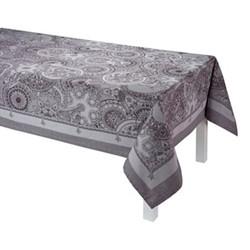 Porcelaine Tablecloth, 175 x 320cm, beige