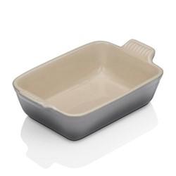 Stoneware Rectangular dish, 26 x 19cm - 2.3 litre, flint