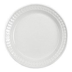 Botanic Garden Harmony Set of 4 plates, 27cm, white