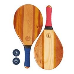 Bi colour transcoso Beach bat set, red and blue