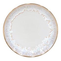 Taormina Set of 6 salad plates, 22cm, white/gold