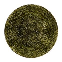 Riviera Forest Round platter, 31cm, green