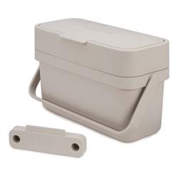 Compo 4 Food waste caddy, H18 x W30 x D13cm - 4 Litre, stone
