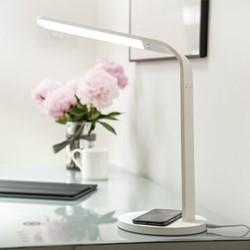 Arc Table lamp, L38 x W18 x H36cm, white