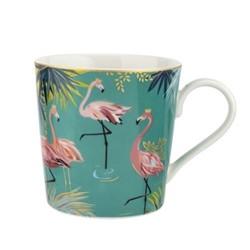 Tahiti - Flamingo Mug, turquoise