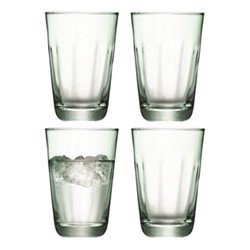 Mia Set of 4 highball tumblers, 350ml, recycled glass