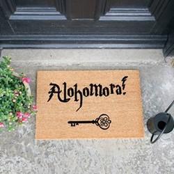 Alohamora Doormat, L60 x W40 x H1.5cm