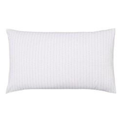 Leaf Pair of standard pillowcases, 74 x 48cm, linen